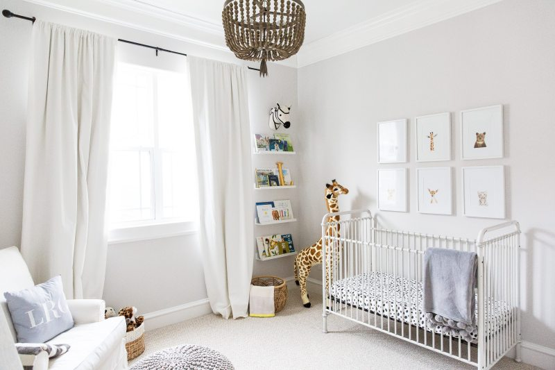 Lincoln S Nursery Reveal Gender Neutral Safari Nursery