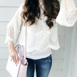 The Essential White Lace Top