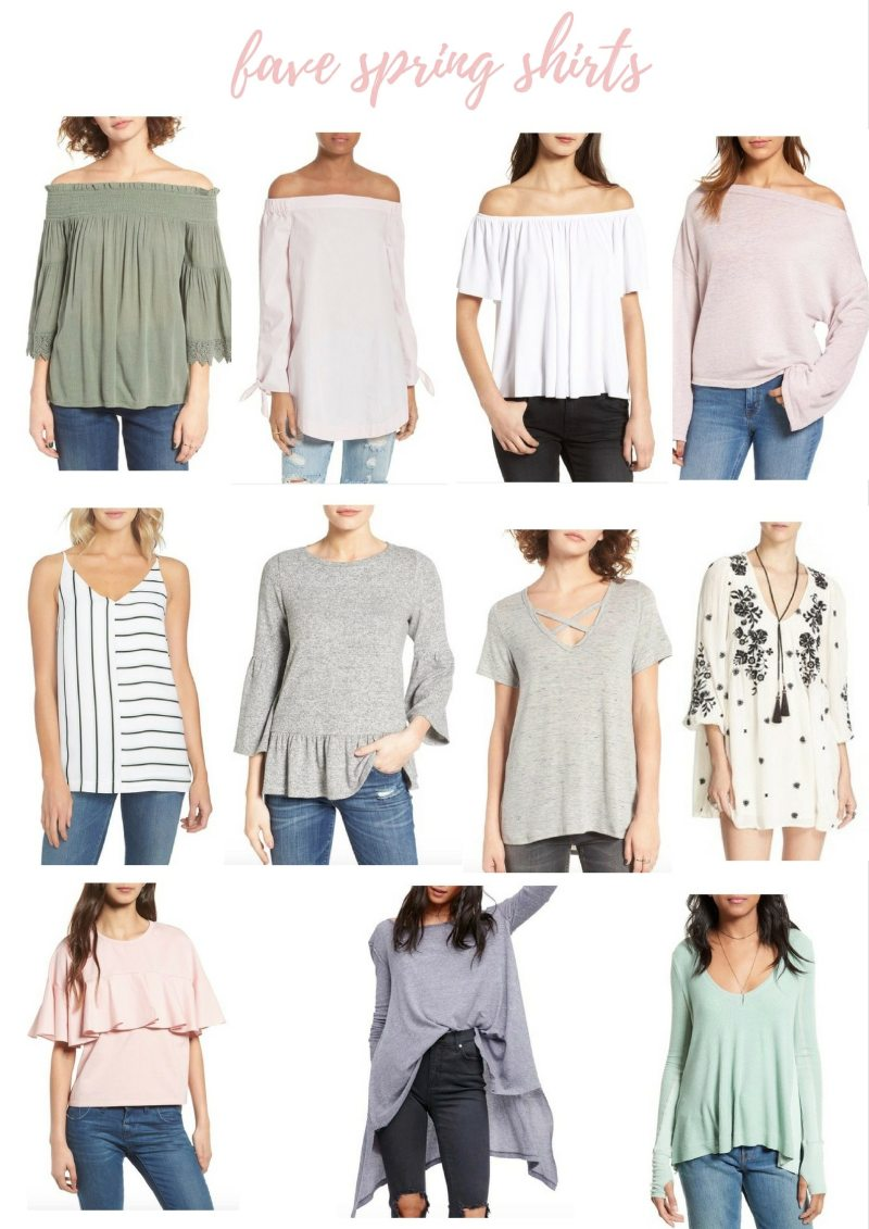 fave spring tops