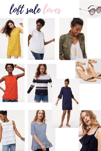 LOFT 40% Off Sale + Fitting Room Try-Ons