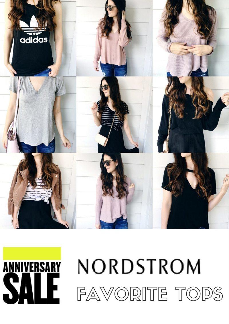 64f4fbbff Nordstrom Anniversary Sale 2017  My Favorite Tops - Veronika s Blushing