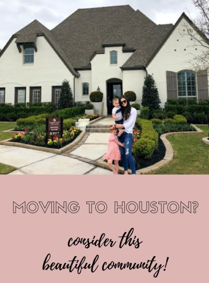 Moving to Houston? Consider this Beautiful Community