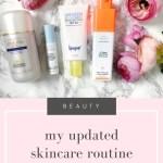 My Updated Skincare Routine