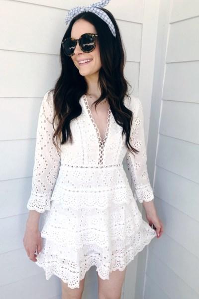 The Best White Dresses For Spring