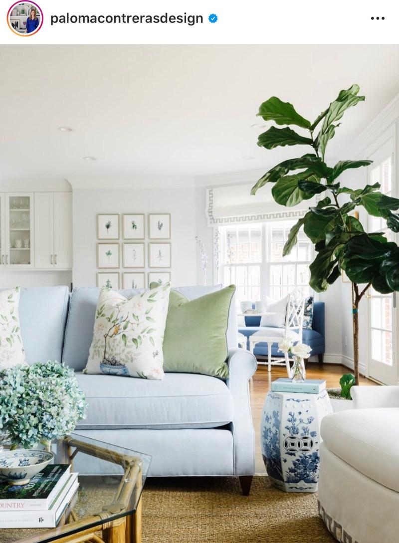 The Best Interior Designers On Instagram Veronika S Blushing