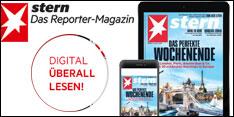 stern –das Reporter-Magazin – Produkt des Monats Mai 2017