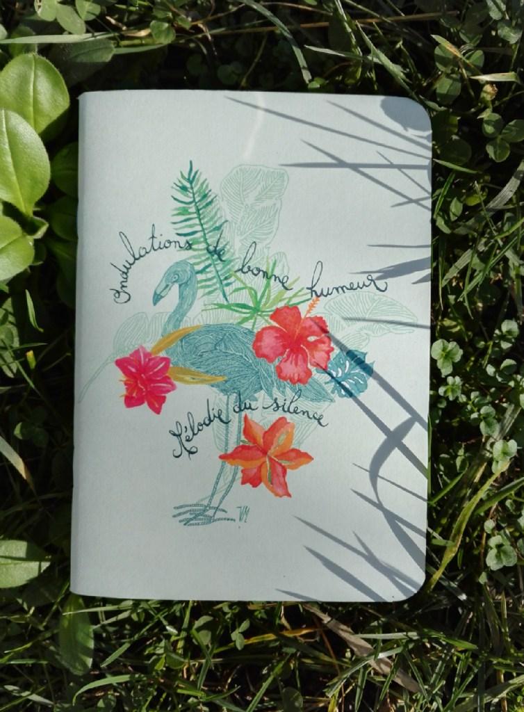 ©Véronique Milioni, créatrice, Papeterie Notebooks Flamand & Bonne Humeur