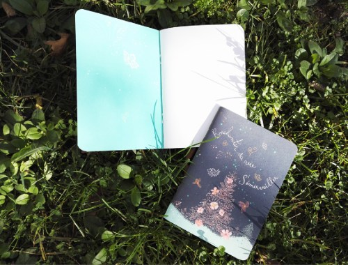 ©Véronique Milioni, créatrice, Papeterie Notebooks Noël