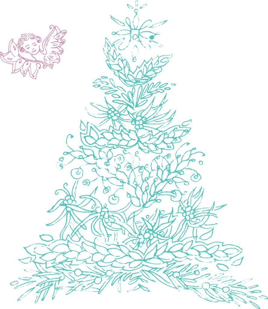 ©Véronique Milioni, La Marque, Les Univers, Nature & Animaux, création dessin au trait fait-main