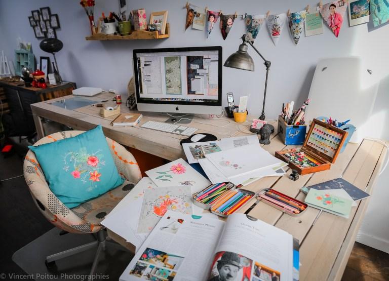 ©Le Studio Véronique Milioni, Graphiste et Créatrice de sa marque destinée au professionnels de l'aménagement intérieur