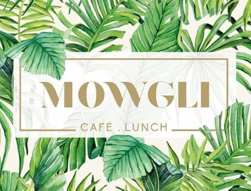 ©Véronique Milioni, La Marque, Réalisation en collaboration avec Mowgli à Lyon 7e, création des motifs et adaptation aux différents supports du lieu : menus, web, etc.