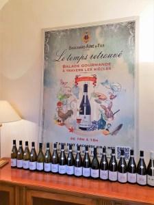 ©Véronique Milioni, graphisme, création-édition étiquette, menus, signalétique de vin Bouchard Ainé & Fils 2018