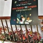 ©Véronique Milioni, La Marque, Réalisation en collaboration avec Bouchard Ainé & Fils à Beaune, création des graphismes de l'événement, étiquettes, flyer, affiches et décoration