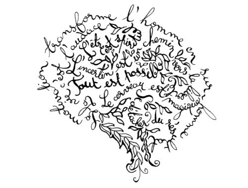 Création Véronique Milioni, Collection cerveau x Art for Science