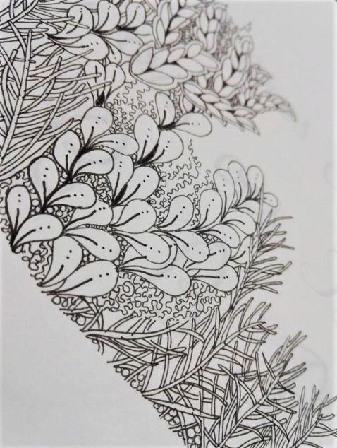 ©Véronique Milioni, dessin méditatif