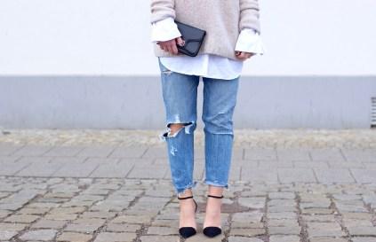 Levi's 501 CT Denim Jeans, Heels, Edited, Sweater, Proenza Schouler