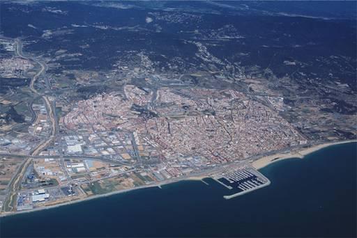 Vista aerea MATARO Barcelona