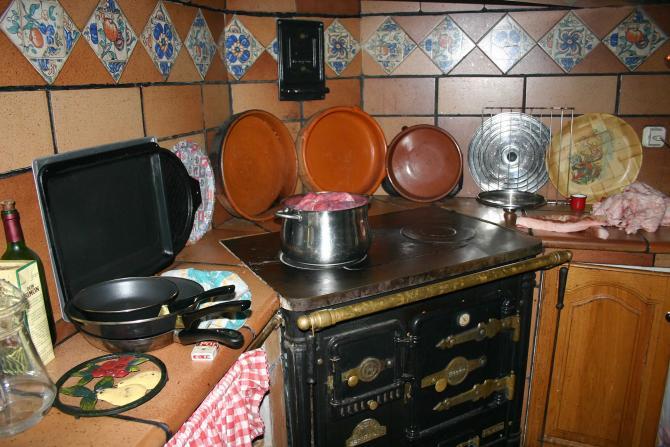 Cocina Antigua De Lea Excellent Amazing Casa Bellavista