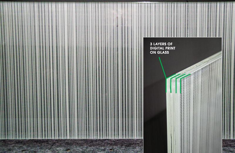 Verrage Glass  Digital Printing