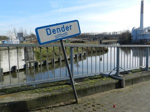 De Dender in Aalst.