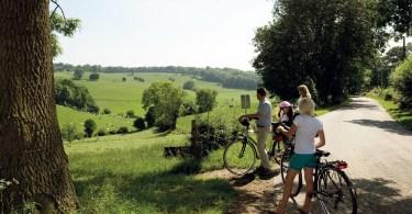 Limburg fietskaart Voeren