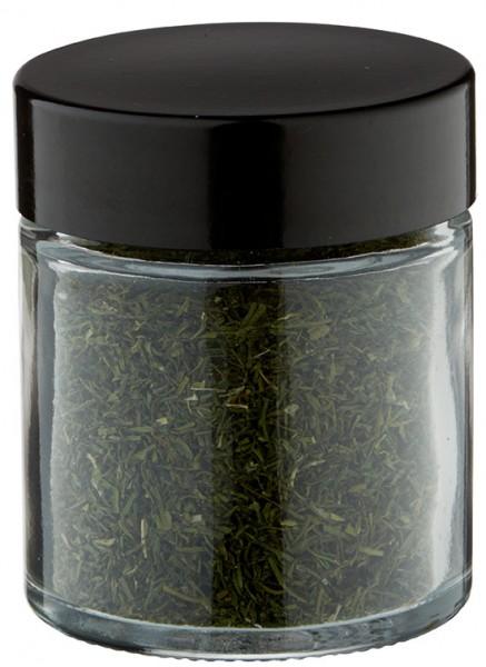 idee de pot a epices pot en verre clair 30 ml avec bouchon a vis