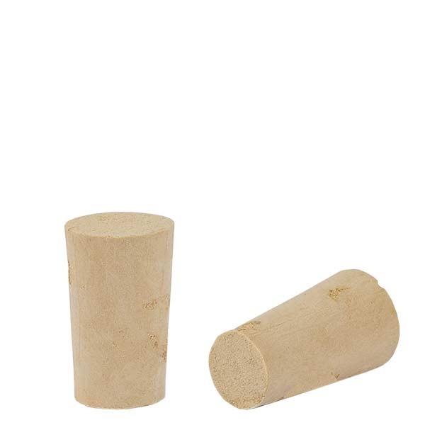 bouchon de liege naturel conique 10 13mm hauteur 22mm