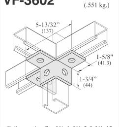 vf 3602 6 hole 3 way  [ 3664 x 4405 Pixel ]