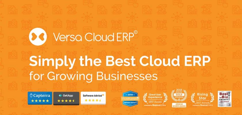 Versa Cloud ERP Award winning solution for your Shopify Store