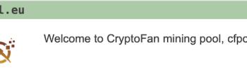 CryptoFanPool adds VersaCoin™ to their pool