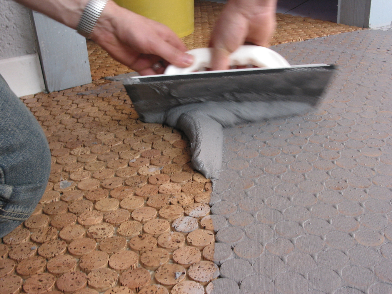 How To Grout Mosaic Tile
