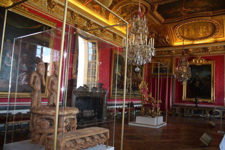 El Saln de Marte  El palacio de Versalles