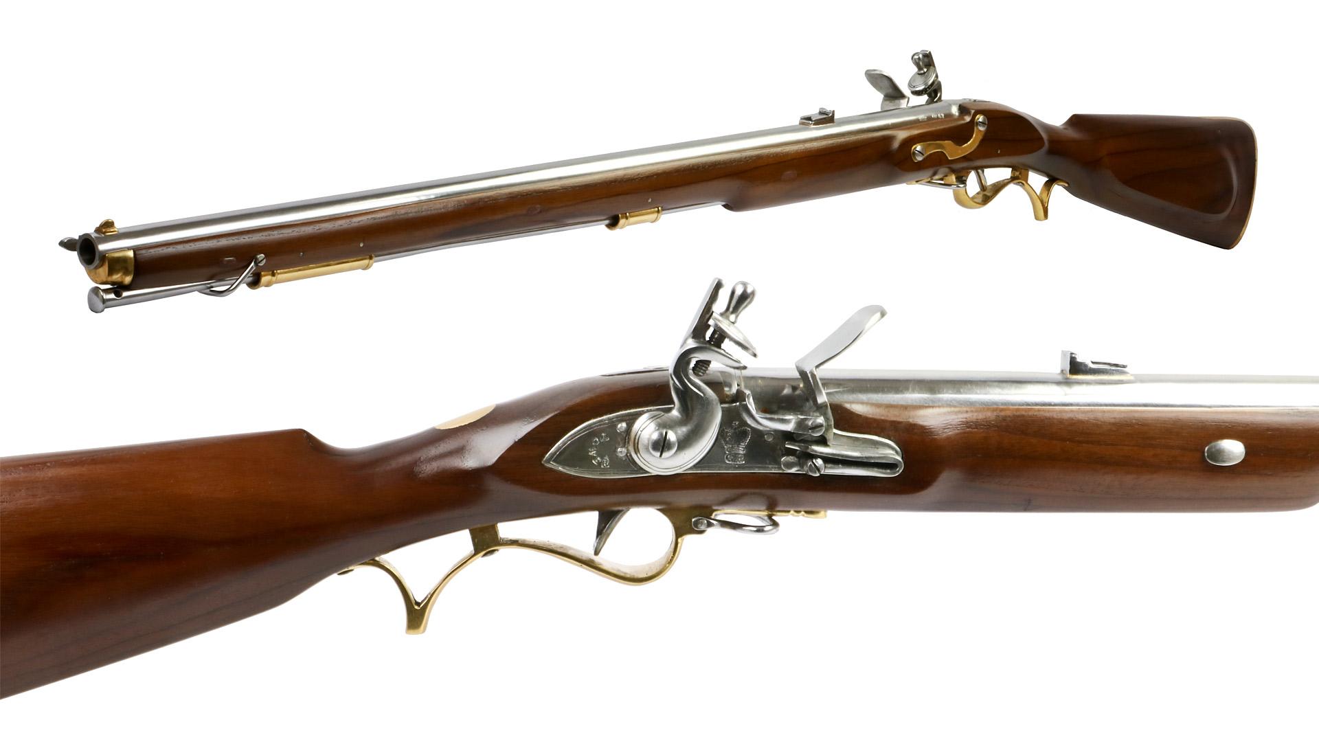 Vorderlader Steinschlossgewehr 1806 Baker Rifle Infantry Muske...