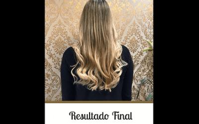 Antes e Depois – Mega Hair