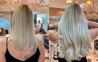 Mechas maravilhosas + mega hair