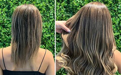 Transformação total! Porque um cabelo cheio é vida, né meninas?