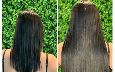 Mais um alongamento maravilhoso! Você também pode ter um cabelão perfeito assim! Agende sua avaliação ??