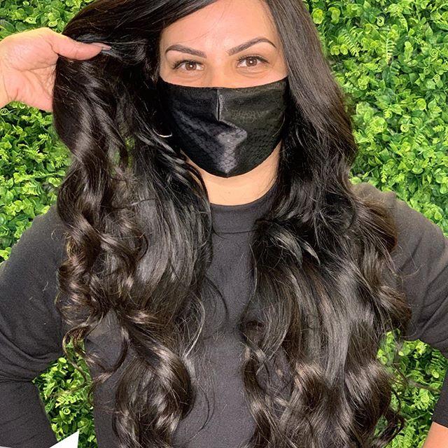 Mega Hair com efeito natural