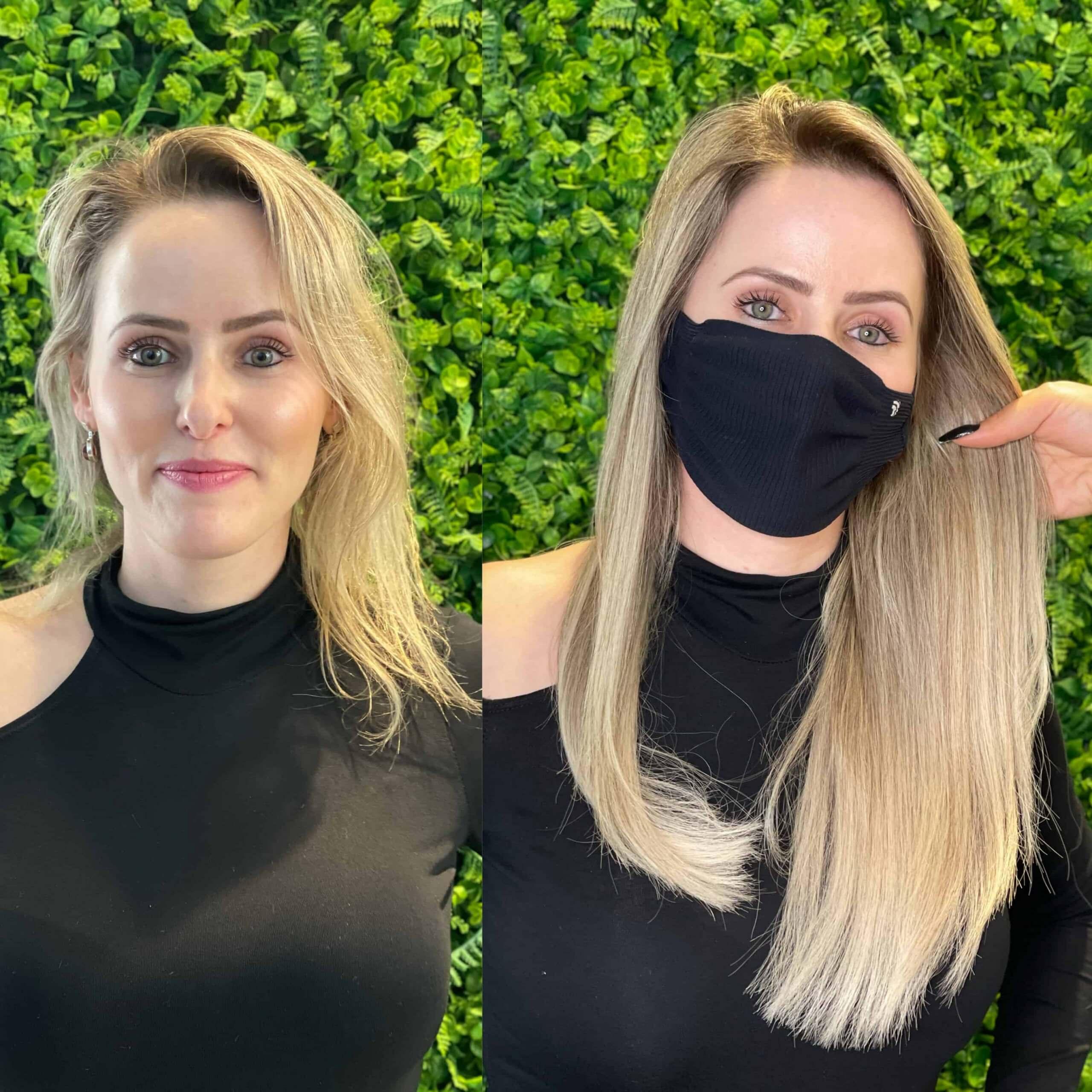 Mega Hair na técnica Invise Lace
