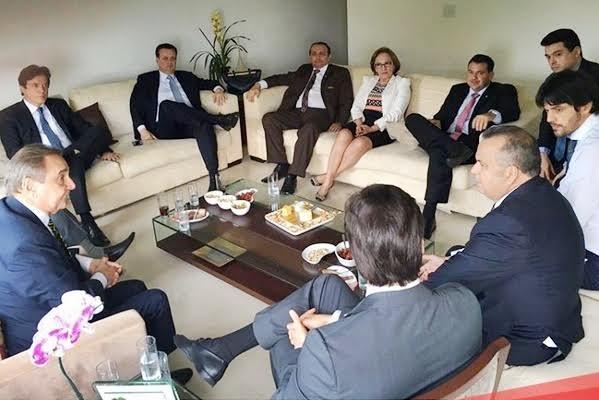 Bancada Federal do RN. Foto: Assessoria de Imprensa do deputado federal Fábio Faria