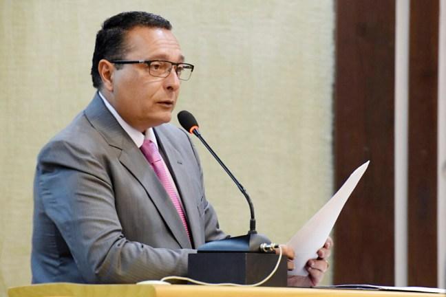 Presidente da Assembleia Legislativa do RN - Ezequiel Ferreira de Souza. Foto: João Gilberto - AL/RN