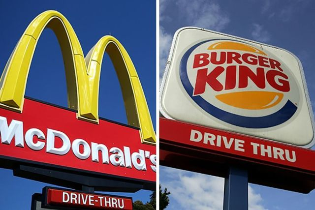 franchising Mc Donald's e Burguer King