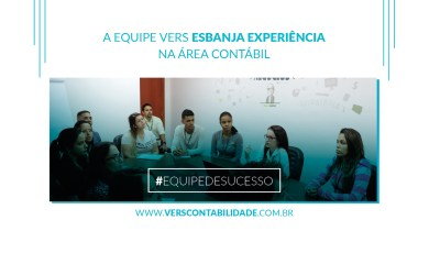 A equipe Vers esbanja experiência na área contábil - site 390x230px