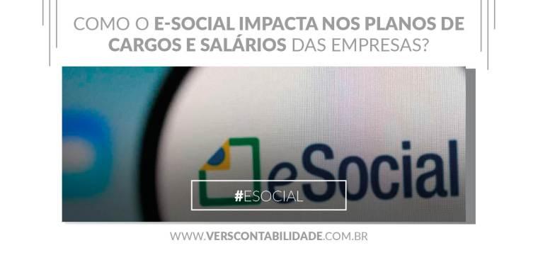 Como o e-social impacta nos planos de cargos e salários das empresas - site 390X230px