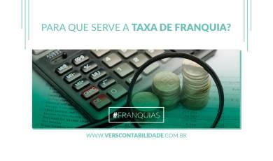 Para que serve a taxa de franquia - site 390x230px