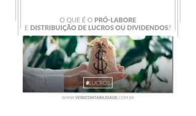 O que é o Pró-Labore e Distribuição de Lucros ou Dividendos - site 390X230px