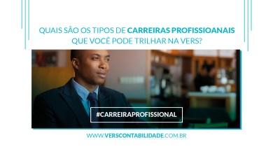 Quais são os tipos de carreiras profissionais que você pode trilhar na Vers