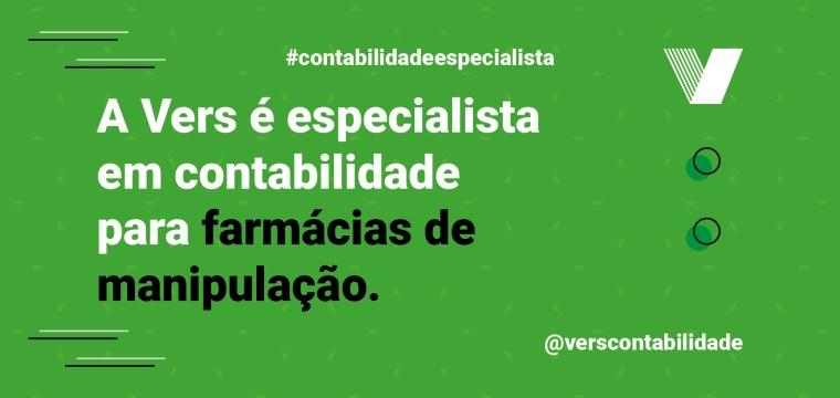 A Vers é especialista em contabilidade para farmácias de manipulação.