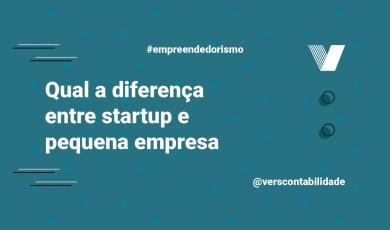 Diferença entre startup e pequena empresa