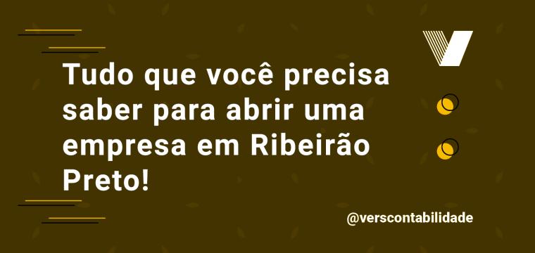 Abrir empresa em Ribeirão Preto